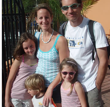 Many families come to Boquete for a family vacation and to learn Spanish together