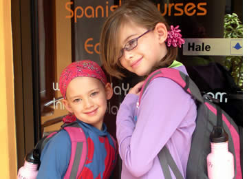 Through our Junior Spanish Program we offer Spanish lessons to children from all over the world
